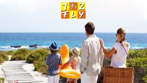 Kinder übernachten gratis! Familienangebot für den Sommerurlaub 2020 bei 1-2-Fly