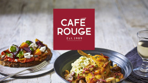 2 for 1 Mains at Café Rouge