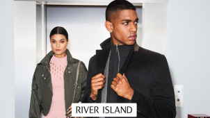 15% Off Orders Over €60 for New Customers at River Island