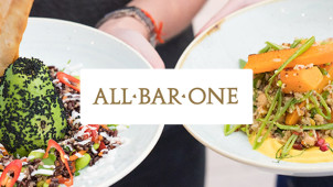 £10 Off Food Bill When You Spend Over £30 at All Bar One