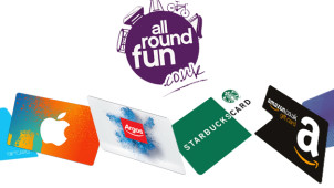 £10 Gift Card with Orders Over £200 at All Round Fun