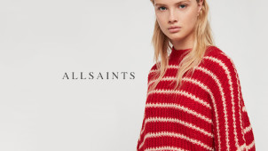 Up to 60% Off in the Outlet at AllSaints