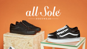 20% Off Orders Over £75 at allsole.com