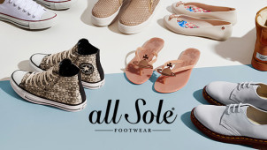 15% Off First Orders at allsole.com