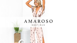 Save 10% Off First Order With Newsletter Sign-up at Amaroso Boutique