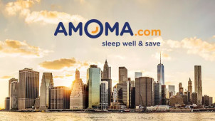 Extra 5% Off Hotel Bookings at Amoma