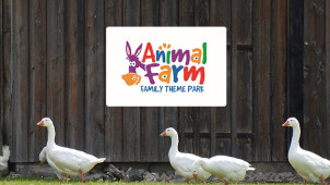 Up to £45 Off Early-bird Easter Kids-fest Tickets at Animal Farm Adventure Park