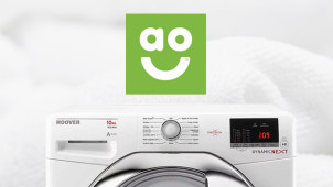 £30 Off Washing Machine Orders Over £299 at ao.com