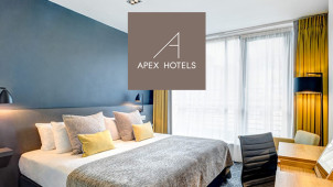 Up to 20% Off Dinner, Bed and Breakfast Package at Apex Hotels