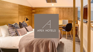 Save 15% on Room Only with Free Cancellation at Apex Hotels