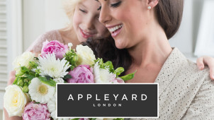 £5 Gift Card with Orders Over £50 at Appleyard Flowers