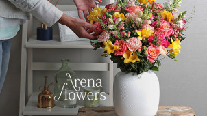 £5 Off Orders Over £35 at Arena Flowers