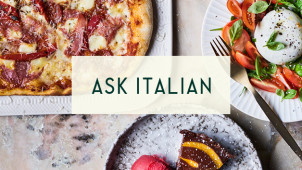 Lunch Menu - 2 Courses from £9.95 at ASK Italian