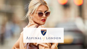Save 15% Extra on Outlet Lines at Aspinal of London