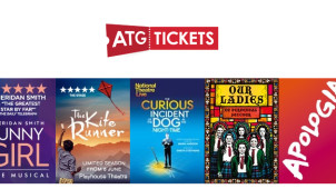 Ticket and 2 Course Meal from £50 at ATG Tickets
