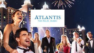 £50 Gift Card with Upfront Bookings Over £2500 at Atlantis The Palm