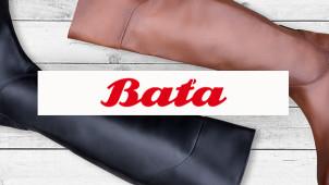 Sleva až -50% na vybranou obuv na Baťa.cz