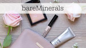Free Makeup Bag with Orders at bareMinerals
