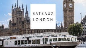Festive Parties from £70pp at Bateaux London