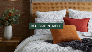 Join the FREE 🤑 Rewards Program & Enjoy 15% Off  at Bed Bath N' Table