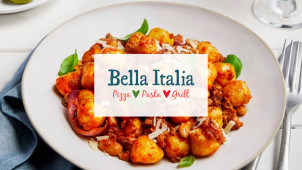 30% Off Mains at Bella Italia - Don't Miss!