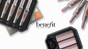6 Free Samples Plus Full Size BADgal Waterproof on Orders Over £90 at Benefit Cosmetics