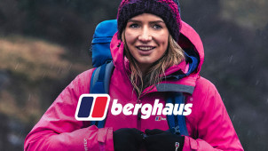 £15 Off Orders Over £100 Plus Free Express Delivery at Berghaus