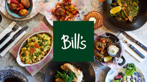 2 Course Dinner Set Menu from £16.50 at Bill's