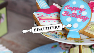 £5 Off First Orders Over £35 at Biscuiteers