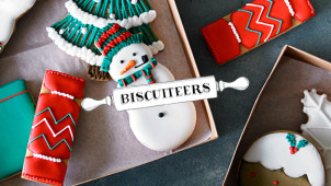 Free UK Delivery on Orders Over £100 at Biscuiteers