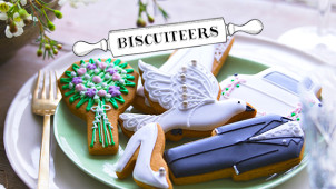 10% Off First Orders Over £30 at Biscuiteers