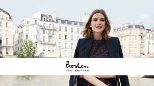 15% Off Plus Free Delivery and Returns on Orders at Boden