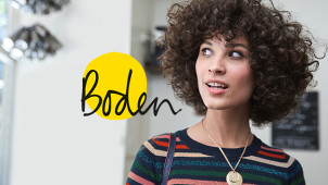 £20 Gift Card with New Customer Orders Over £80 at Boden