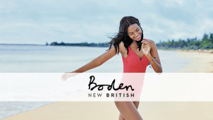 Free Delivery on Orders Over $150 at Boden