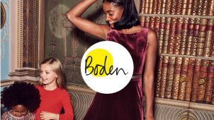 25% Off Orders and 10% Off New Season Styles Plus Free Delivery at Boden