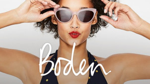 30% Off Women's Fashion Plus Free Delivery at Boden