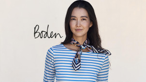 10% Off Plus Free Delivery and Returns on Orders Over £30 at Boden