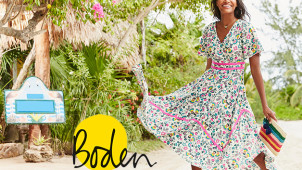 20% Off Orders Plus Free Delivery on Orders Over £30 at Boden
