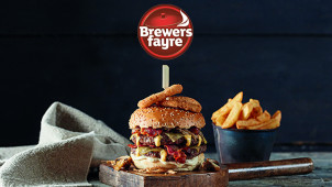40% Off Mains at Brewers Fayre