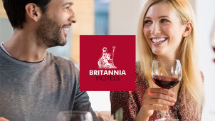 £20 Gift Card with Upfront Bookings Over £100 at Britannia Hotels