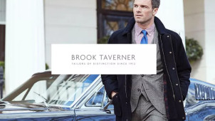 Up to 55% Off plus Free Delivery on Selected Orders at Brook Taverner