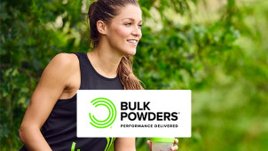 £10 Off First Orders Over £70 at Bulk Powders