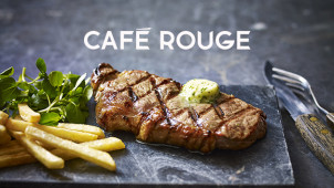 2nd Main for £1 at Café Rouge