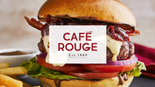40% Off Mains at Café Rouge