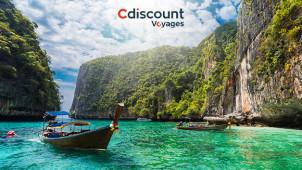 Printemps 2020: jusqu'à -35% sur vos vacances avec Cdiscount Voyages