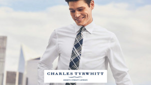 10% Off Plus Free Delivery at Charles Tyrwhitt