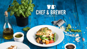 Gourmet Burger & Drink for £10 on Wednesday at Chef and Brewer