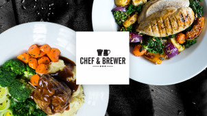 33% Off Food at Chef and Brewer