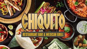40% Off All Click and Collect Starters, Mains and Desserts at Chiquito