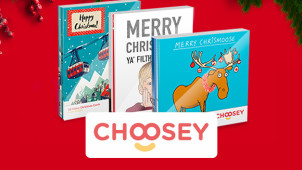 25% Off Multipack Christmas Cards at Choosey